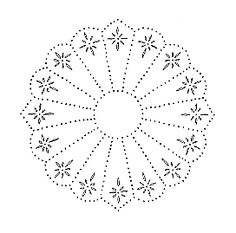Tin Punch Pattern - would make a great quilting pattern for a pillowtop