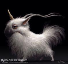 ArtStation - Scrappy Little Unicorn, Bobby Chiu