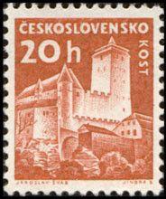 Sello: Kost (Checoslovaquia) (Strongholds and Castles) Mi:CS 1187,Sn:CS 972,Yt:CS 1070,AFA:CS 1033,POF:CS 1103