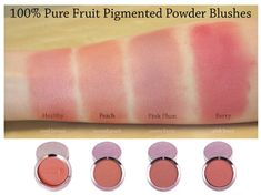 100 percent pure pretty naked blush - Google Search Non Toxic Natural Makeup, Organic Makeup, Organic Beauty, Organic Skin Care, Natural Beauty, 100 Pure Cosmetics, Makeup Cosmetics, Chemical Free Makeup, Pigment Powder
