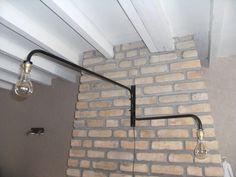 applique potence murale orientable style industriel : Luminaires par yege