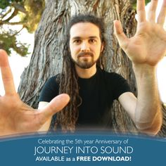 "Today, alongside #EarthDay, is the 5 year Anniversary of my debut album 'Journey Into Sound'. We're celebrating by giving away a free download for the next 48 hours. Download your copy and ""pay-it-forward"" → http://cflow.co/JIS-5yrs"