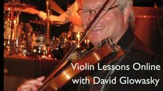 Violin lessons online for intermediate and advanced violin students