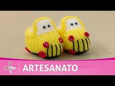 Vida com Arte | Sapatinho de carrinho por Jaqueline Santos - 14 de Outubro de 2016 - YouTube