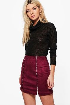 boohoo Double Zip Front Suedette Mini Skirt - plum Calla Double Zip Front Suedette Mini Skirt - plum http://www.MightGet.com/january-2017-13/boohoo-double-zip-front-suedette-mini-skirt--plum.asp