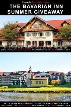 Ladies & Gentlemen, there's never a bad time to visit #Frankenmuth, but when you're getting dinner, and an over night stay at the #Bavarian Inn ( Up to 4 Guests ) , there's absolutely no excuse not to come. Enter our competition and you could win an overnight stay for  up to 4 people at the Bavarian Inn Lodge and a family style chicken dinner for 4 guests at the Bavarian Inn Restaurant. Here's your chance at that! #FreeInDetroit