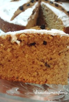 Greek Desserts, Greek Recipes, Healthy Sweets, Yummy Cakes, Vanilla Cake, Muffin, Dessert Recipes, Food And Drink, Baking