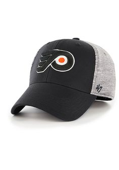 size 40 03ff2 de992  47 Philadelphia Flyers Mens Black Verona Contender Flex Hat, Black, WOOL  BLEND, Size M L