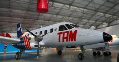 Um dos clássicos da Embraer, o EMB-110 também está em exposição no museu, em São Carlos (SP); o museu fica aberto de quarta-feira a domingo, das 10h às 16h