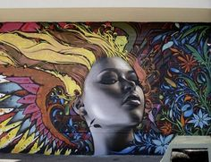 Photorealistic Graffiti by El Mac. Extremely detailed and amazingly realistic graffiti art works created by very talanted artist El Mac from USA. His beautiful murals and graffiti decorates streets of US as well as France, Denmark and Mexico.