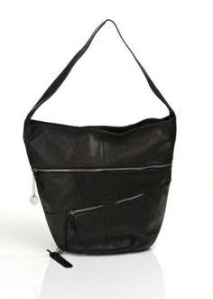 Mimic Copenhagen lædertaske med lynlåslommer foran. Lynlåslukning.   Indvendig et stort rum med lille lynlåsrum og indstikslomme i siderne.  Måler 35 x 40 x 15 cm ( højde x bredde x dybde )   Model: M123508