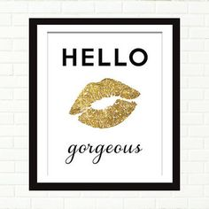 kiss lips wall art - Google Search