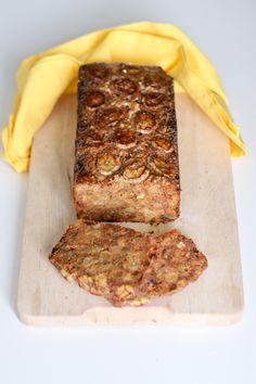 Chez Mazilique: Prajitura cu banane, curmale si rom / fara zahar adaugat, fara gluten