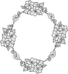 pergamano - Page 14 Adult Coloring Book Pages, Cute Coloring Pages, Flower Coloring Pages, Floral Embroidery Patterns, Lace Patterns, Embroidery Designs, Wood Burning Patterns, Parchment Craft, Foil Art