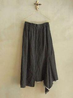 skirt - vlas blomme