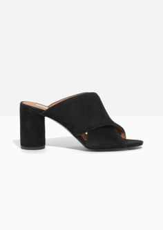 & Other Stories | Suede Cross Strap Mule