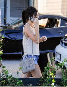 keeping-up-with-the-jenners: August 14, 2015- kendall leaving Barney's New York in Los Angeles