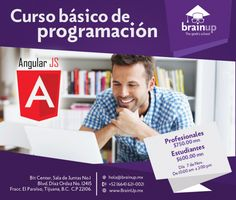Curso básico de programación por Brain up en el Bit Center!  info: ow.ly/U475X