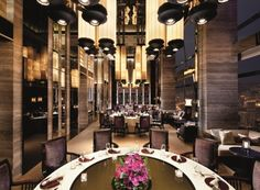 Tin Lung Heen (Ritz-Carlton) - Kowloon, #HongKong - Authentic Cantonese fare in a refined setting 102 stories high (2 Michelin Stars)