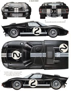 Classic Car News Pics And Videos From Around The World Ford Gt40, Gt Cars, Race Cars, Le Mans, Retro Cars, Vintage Cars, Ford Motorsport, Shelby Car, Racing Car Design