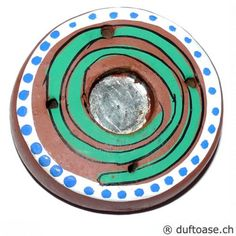 Halter Spirale Räucherkegel- Stäbchen - Räucherstäbchenhalter - Cleopatra's Duft-Oase