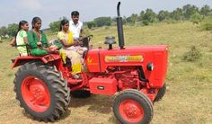 Women Power in Fields...... New #MahindraYuvo 575 Di Read more:http://tractorjunction.com/product/111/mahindra-tractor-575di