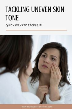 Discover how to tackle uneven skin tone naturally!