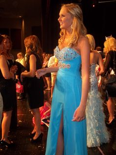 """""""THE DRESS"""" for the Miss TN Teen Pageant!    Gown from Bella Boutique, Knoxville, TN"""