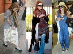 Homeless Chic. Mary-Kate Olsen.