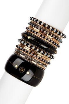 HauteLook | Jewelry Trend: Layering: Sunset Strip Bangle Set