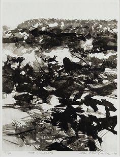 Ulla Rantanen: Aihe luonnosta, 1979, litografia, 60x46 cm, edition 55/99 - Bukowskis Market 5/2016