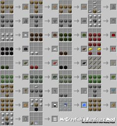 furniture mod for mine craft (how to build)