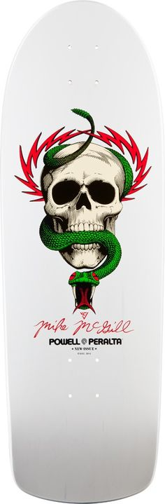 Powell Peralta, Mike McGill in white - Sweet Love It !