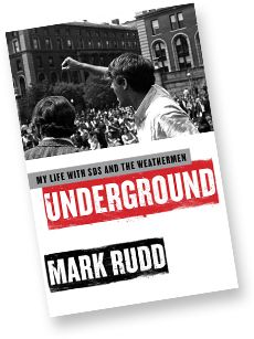 In Mark Rudd led an occupation of five buildings at Columbia University in protest against the university's support for the Vietnam War and its institutional racism. He also was a key part of the SDS, Weather Underground and Days of Rage. Weather Underground, Vietnam War, Revolutionaries, Rage, Columbia, Miami, Buildings, University, Key