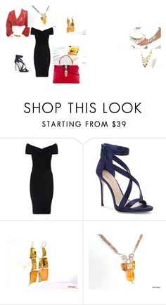 """""""Date night"""" by pzmdesigns on Polyvore featuring Maje, Imagine by Vince Camuto and Gucci"""