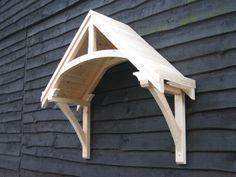 Timber door canopies- traditional cottage canopies - front door canopies & full canopy doors | Door Designs Plans | door design plans ... Pezcame.Com