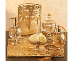 For the vanity - Arte Italica Baroque Bath Collection
