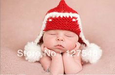 baby photography props newborn christmas hat by. Black Bedroom Furniture Sets. Home Design Ideas