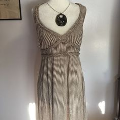 Max Studio Maxi Dress- Med Beautiful rayon/ linen blend makes this dress so soft & comfortable- just slip it on & go! Excellent condition  Max Studio Dresses Maxi