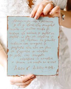 Copper on blue . . . . . . . . #calligraphy #caligrafieromania #loveletter #letter #poem #ink #weddingphotography #vows Catio, Love Letters, Vows, Place Cards, Copper, Place Card Holders, Wedding Photography, Calligraphy, Lettering