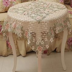 Table cloth embroidery table cove tablecloth 85*85cm (36*36 inch) DARK design for home hotel weeding dining room-in Table Cloth from Home & Garden on Aliexpress.com | Alibaba Group