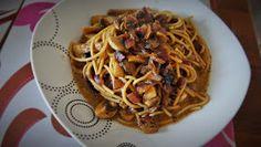 Blog o tym, czego dusza zapragnie. Spaghetti, Ethnic Recipes, Food, Essen, Meals, Yemek, Noodle, Eten