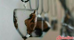 Fatto a mano, sbirulina, legno e resina, gioiello, collana, vite di Ramandolo, su facebook:Sbirulina