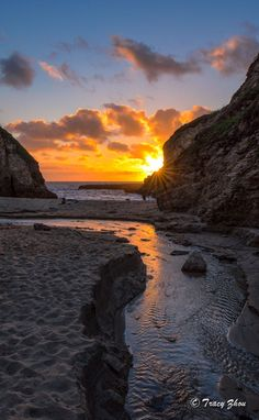California Coast, by Tracy Zhou. Nature Pictures, Beautiful Pictures, Beautiful Places, All Nature, Amazing Nature, Landscape Photography, Nature Photography, Photos Voyages, Beautiful Sunrise