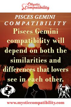 Pisces Gemini compatibility will depend on both the similarities and differences that lovers see in each other. #Pisces #Gemini #Relationship #Compatibility #Pisces_Gemini #Relationship_Compatibility #PiscesGemini #RelationshipCompatibility #Zodiac_Signs Pisces Gemini Compatibility, Gemini And Pisces, Pisces Love, Gemini Zodiac, Horoscope, Zodiac Signs, Gemini Relationship, Relationship Compatibility, Similarities And Differences