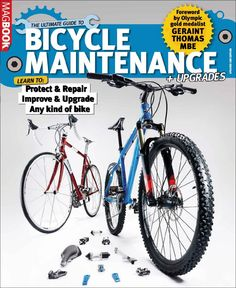 Ultimate Guide to Bicycle maintenance & upgrades Magazine Subscription (Digital) Cycling Magazine, Moutain Bike, Bicycle Maintenance, Library Card, Road Cycling, The Guardian, Book Format, Budgeting, Digital