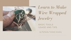 Article - Basic Wire Wrapping Tools, Use and Tips Wire Wrapping Tutorials, Perfectly Twisted Jewelry, FREE step by step, DIY, handmade jewelry Etsy Jewelry, Jewelry Stores, Beaded Jewelry, Handmade Jewelry, Wire Wrapping Tools, Wire Wrapping Tutorial, Wire Work, Wire Wrapped Jewelry, Etsy Store