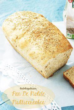 Pan de molde multicereales | La Dolce Gula #receta #cocina #pan #pancasero #blogcocina #yummy #delicious #foodie http://ladolcegula.wordpress.com/2013/05/13/receta-cocina-pan-multicereales/