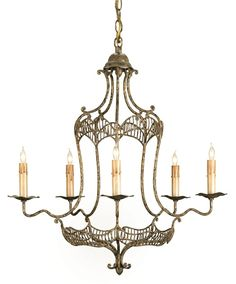 Charisse Chandelier Lighting | Currey and Company