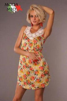 Женское летнее платье курсовая
